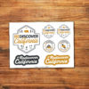 Rediscover California Sticker Sheet